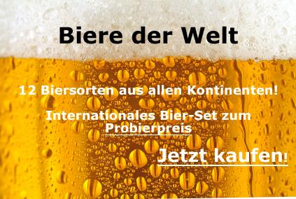 Biere der Welt - Probier-Set