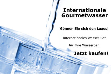 Internationale Gourmetwasser - Set